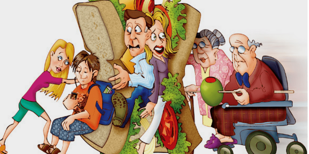 The Sandwich Generation & Why Parents Need To Be Willing To Cut Financial Ties