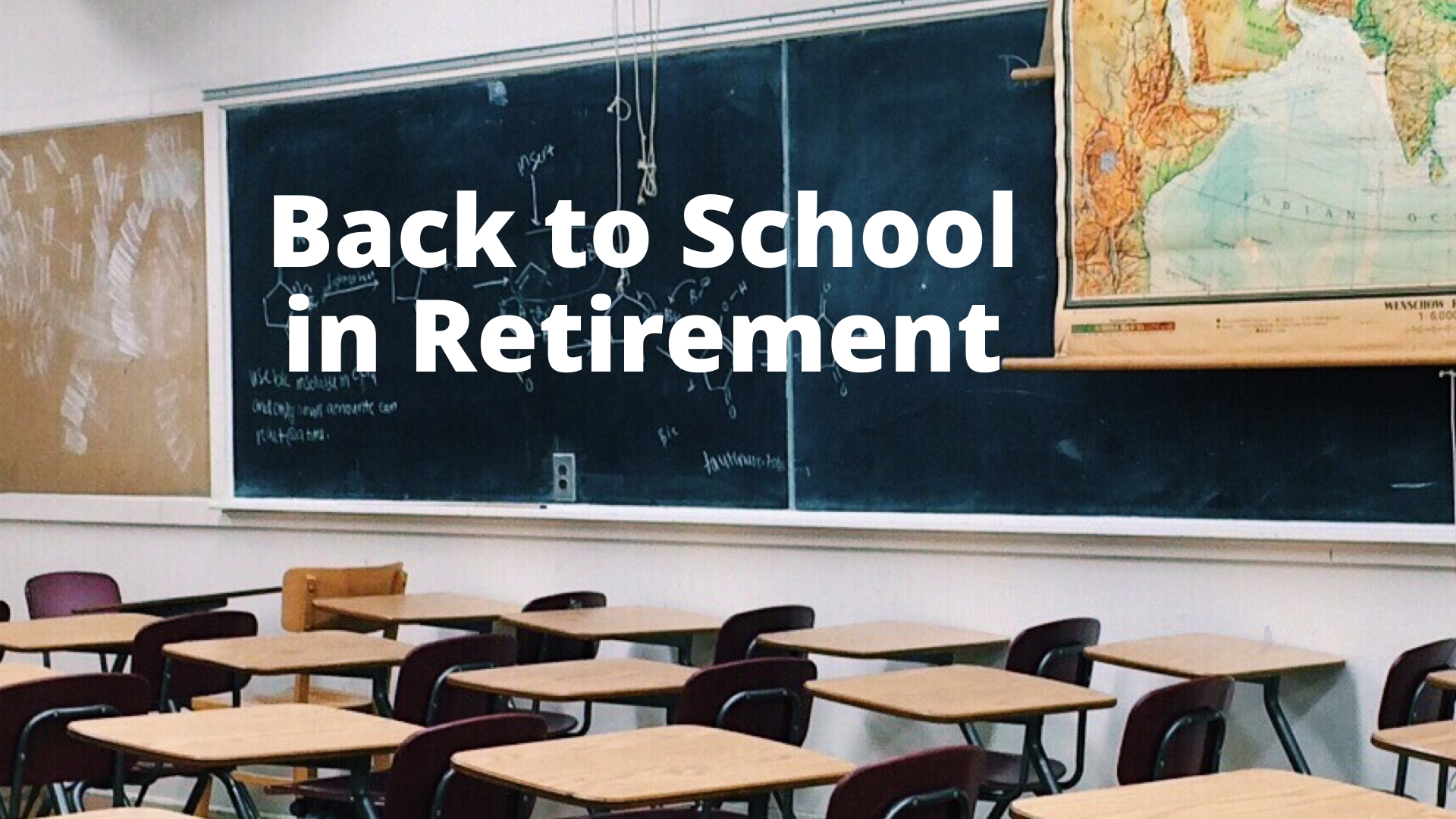 New Education Opportunities Help Retirees with a Second Act